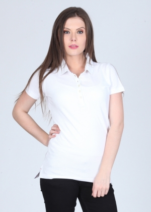 White Collar T-Shirt