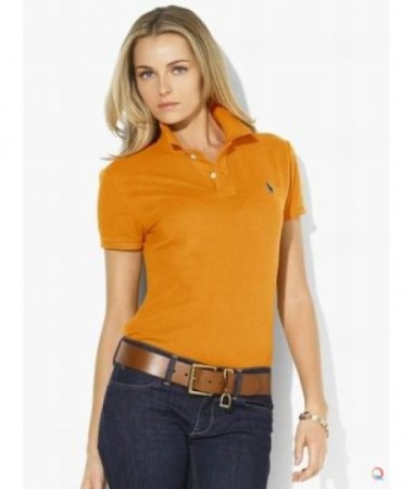 Orange Collar T-Shirt
